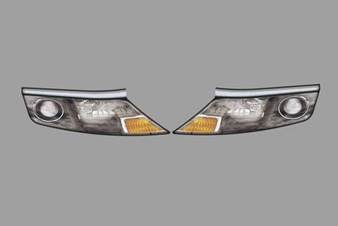 Ford Fusion Headlights