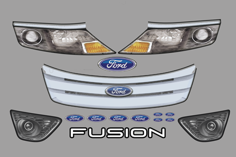 Ford Fusion Nose ID Kit