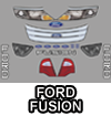 Ford Fusion Body Graphic Kit