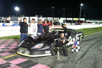 Drew Brannon SpeedWeeks Pro Late Model Win #2