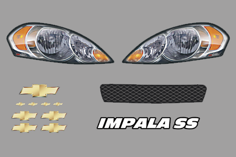 Chevy Impala Dirt ID Kit