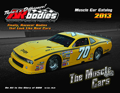 ARbodies 2013 Muscle Car Front Cover